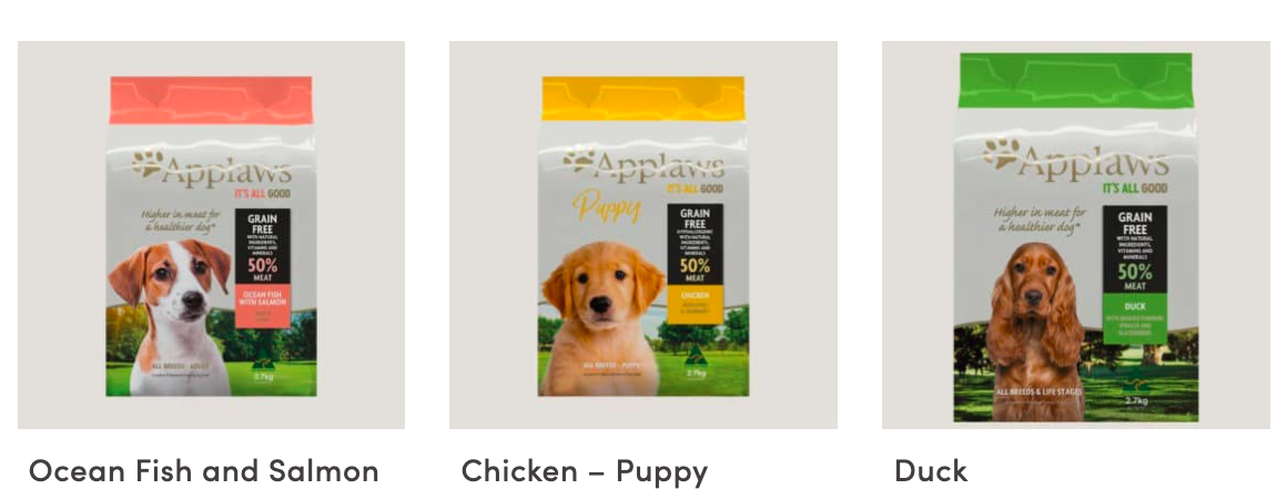 applaw dog food products